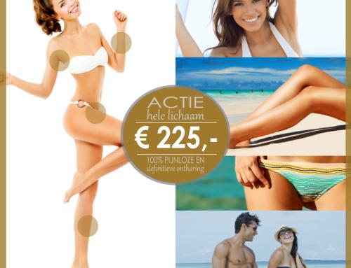 ACTIE is VERLENGD – HELE LICHAAM voor maar €225,-