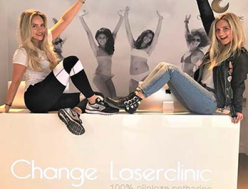 Blonde Tigers bij Change Laserclinic